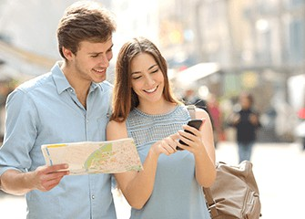 Free tourist information - maps, city booklets